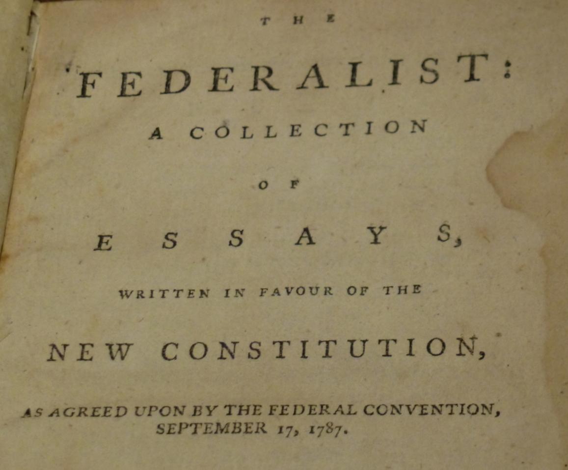 Federalist No. 45